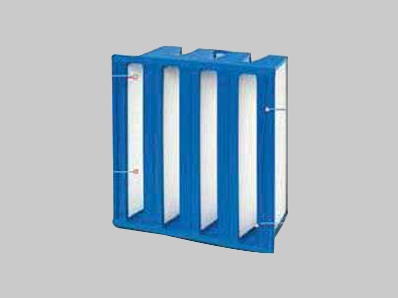 Rigid V cell Filter