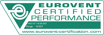EUROVENT Certified