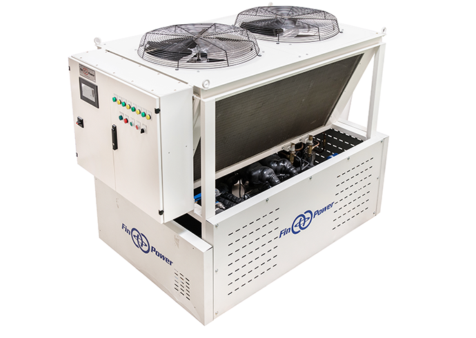 Finpower process chiller